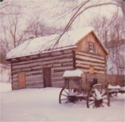 The wagon came from Schall's Farm in Kiski Township.